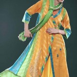 Big Eid Dresses Variety 2014 For Females  Cotton Ginny (5)