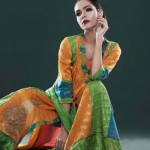 Big Eid Dresses Variety 2014 For Females  Cotton Ginny (6)