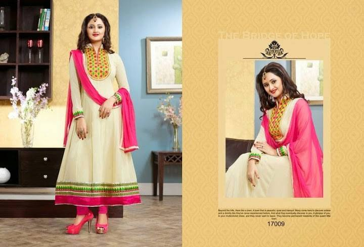 Bismi Boutique Party wear Anarkali Dresses Collection 008