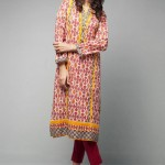 Bonanza & Satrangi Dresses Collection 2014 2