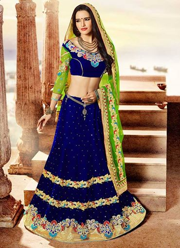 Cbazaar Gharara Choli Beautiful Styles Variety 2014 (1)