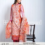 Chantilly de Chiffon from Cambric Mid Summer 2014 by GulAhmed 2
