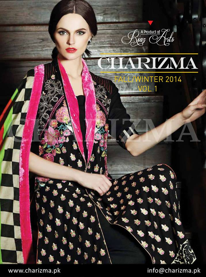 Charizma Eid Beautiful Clothes Collection 2014-15 for Ladies (3)