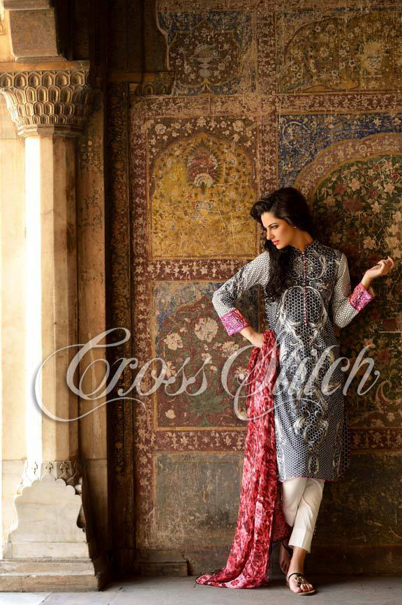 Colourful Cross Stitch Laides Function Use Summer Outfits 2014 (4)