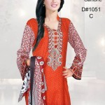 Dawood Cotton Dress Collection 2014 7