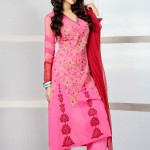 Eid Function Women Beautiful Styles Series 2014 Phulkari By Taana Baana (1)