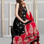 Eid Function Women Beautiful Styles Series 2014 Phulkari By Taana Baana (4)