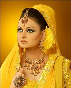 Elegant Javeria Abbasi Wedding Suits Compilation 2014 For Females (5)
