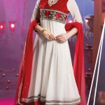 Evelyn Sharma - Bollywood Star Anarkali Frocks Choices 2014 (4)