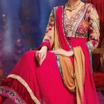 Evelyn Sharma - Bollywood Star Anarkali Frocks Choices 2014 (5)