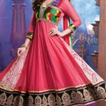 Evelyn Sharma - Bollywood Star Anarkali Frocks Choices 2014 (6)
