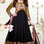 Exclusive Design Of Evening Wear Anarkali Suits 2014 1