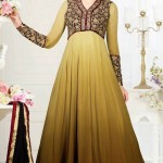 Exclusive Design Of Evening Wear Anarkali Suits 2014 2