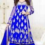 Exclusive Design Of Evening Wear Anarkali Suits 2014 3