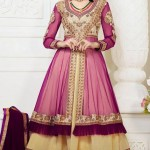 Exclusive Design Of Evening Wear Anarkali Suits 2014 4