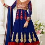 Exclusive Design Of Evening Wear Anarkali Suits 2014 8