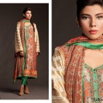 Fahad Hussayn Couture Printed Mid Summer Dresses Collection 2014 4
