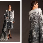 Fahad Hussayn Couture Printed Mid Summer Dresses Collection 2014 6