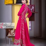 Fall Lengthy Frock Style for Eid Function by Amirah (2)