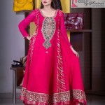 Fall Lengthy Frock Style for Eid Function by Amirah (3)
