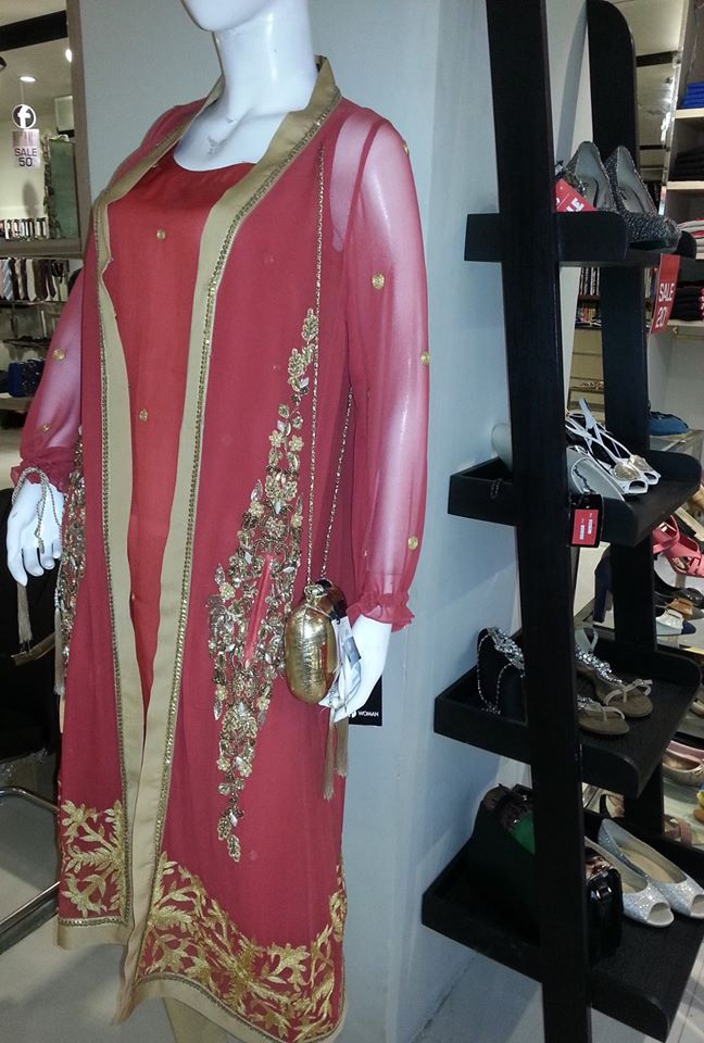 Firdous Fashion New Eid Wear Dresses Collection 2014 1