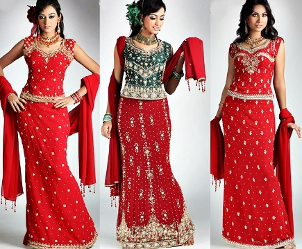 Fresh Selection Fashion Utsav Tendency Indian Lehenga Choli 2014-15 For Ladies (1)