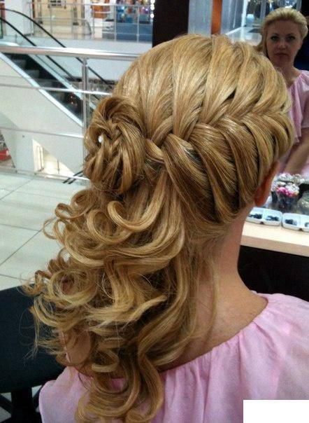 Marvelous Eid Hairstyle 2015 For Young Girls Short Hairstyles Gunalazisus
