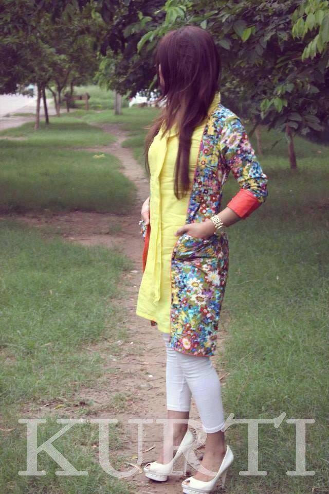 KURTI New Summer Dresses Collection 2014 1