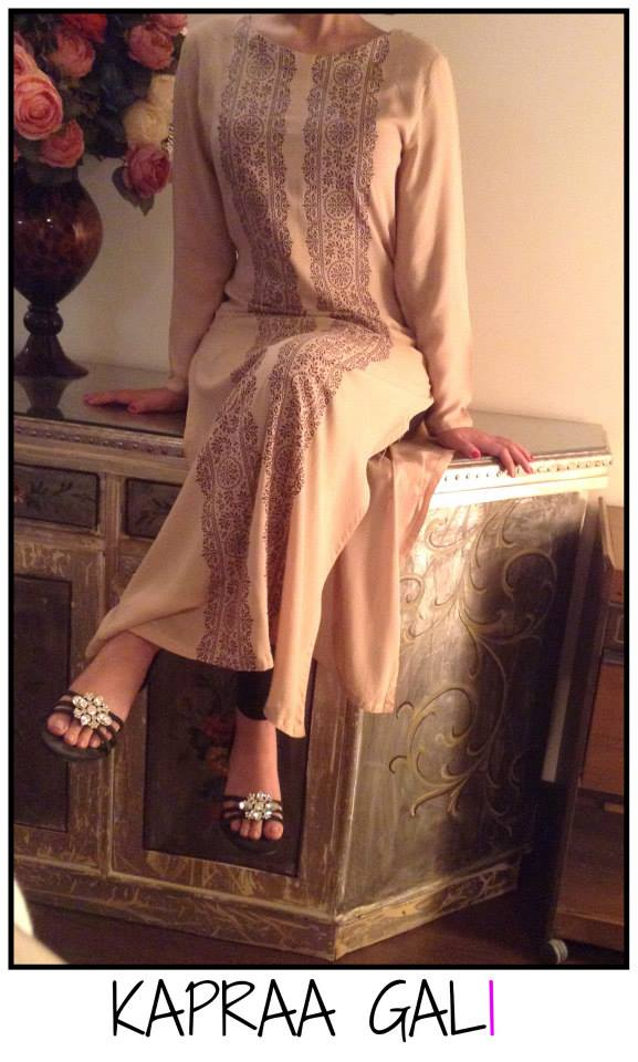 Kapraa Gali by Anum Jung Eid Dresses Collection 2014 3