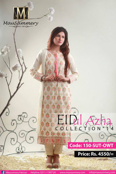 Mausummery Pakistan eid-ul-azha Collection 2014 3