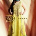 Mayoon Dresses Collection 2014 For Bridal  4