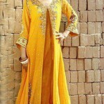 Mayoon Dresses Collection 2014 For Bridal 7