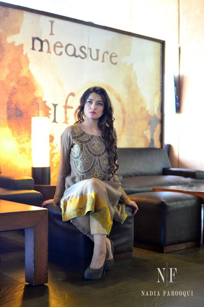 Nadia Farooqui Eid Dresses Collection 2014 1