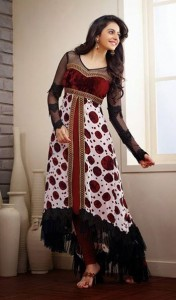 New Casual Wear Georgette Churidar Dresses Collection.