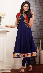 New Casual Wear Georgette Churidar Dresses Collection. 2