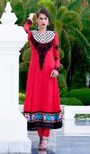 New Casual Wear Georgette Churidar Dresses Collection. 6