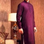 Newest Tendency Of Everyday Kurtas Shalwar 2014 Assortment For Guys (2)