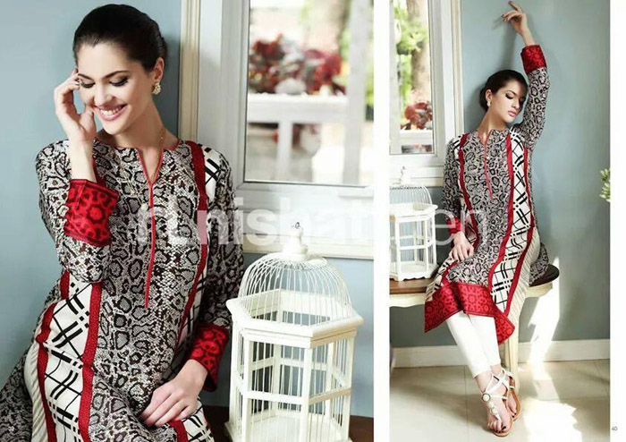 Nisha Coming Winter Elegant Outfits 2014 - 15  Nishat Linen (3)