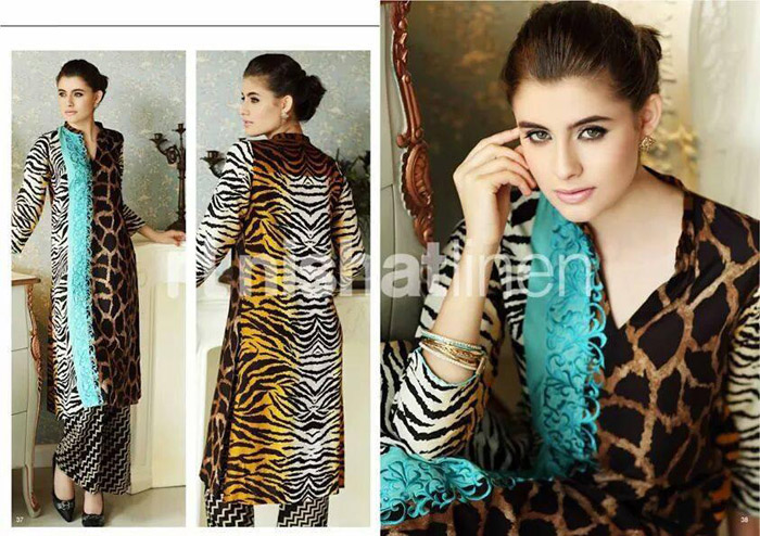Nisha Coming Winter Elegant Outfits 2014 - 15  Nishat Linen (5)