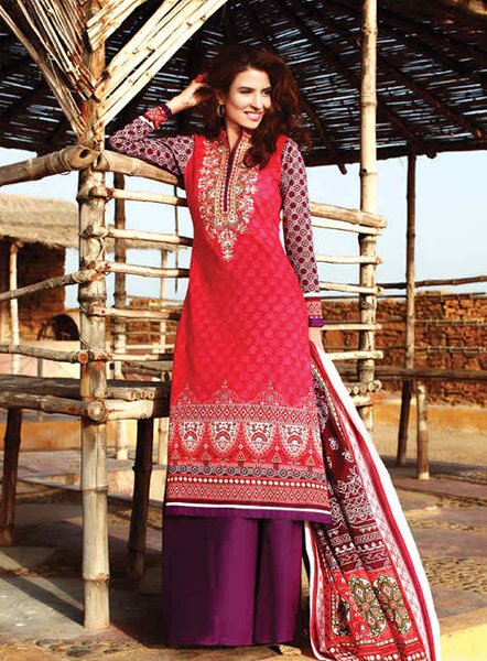 Pakistani Colorful Clothes Assortment 2014 (3)