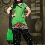 Patiala Attractive Garments Styles for Ladies Occasion (3)
