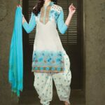 Patiala Attractive Garments Styles for Ladies Occasion (6)