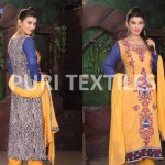 Puri Textiles Mid Sumer Dresses Collection 2014 9