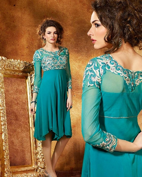 Quality Winter Fancy Small Kurti Concepts 2014-15 For Females (2)