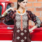 Rabea Kurti Collection 2014 By Shariq Textile 2