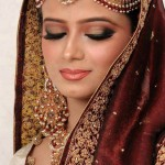 Recent Pakistani Wedding Makeup Variety 2014 (6)