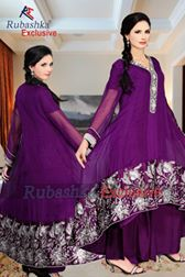 Rubashka Fashion New Party Wear Frocks Collection 2014 1