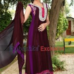 Rubashka Fashion New Party Wear Frocks Collection 2014 11