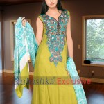 Rubashka Fashion New Party Wear Frocks Collection 2014 12