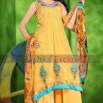 Rubashka Fashion New Party Wear Frocks Collection 2014 14